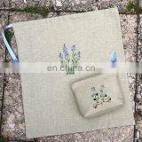 Embroidery shoe bags and pouches