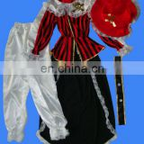 New Fancy halloween costume pirate costume helloween costume couple