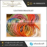 Grand Variety of Leather Bracelet for Women and Girls Ready for Selling from Noteworthy Market Leader