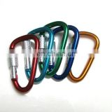 2015 novelty bulk stainless steel 316 metal snap hook/carabiner/biner wholesale