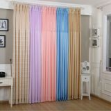 IFR polyester hospital cubicle curtain fabric with mesh