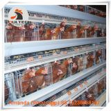 Libya Chicken Farm Hot Galvanized Cage A Type Battery Layer Cage with 120 birds in Chicken Shed