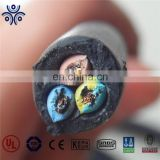 Rubber Insulation and sheath cable power H07RN-F low voltage cables power Fire resistant power and signal cable
