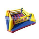 Kids Adult Interactive Games Inflatable Boxing Ring With Gloves
