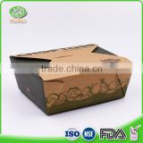 Wholesale best quality eco-friendly recycle paper lunch box in OEM                                                                                                         Supplier's Choice