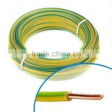 PVC Insulated flexible electrical cable Copper Conductor House Wiring Electrical Cable 6mm electric wire