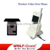 wireless video intercom door phone Monitor system/apartment video door phone intercom system