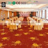 009 Luxury Printed Hotel Lobby Nylon Carpet Commerical Nylon Printed Carpet