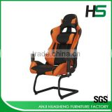 2016 Modern Orange Custom Racing Seat Chair Hot Selling in Europe                                                                         Quality Choice