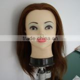 practice fiberglass mannequin head with remy human hair                                                                         Quality Choice