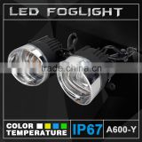 Machine 2400lumen LED DRL Fog Light For Renault Megane Fluence