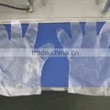 PE Disposable Examination Glove, clear PE gloves
