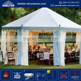 Durable and long life span hot sale 15x25 wedding tent / party tents / bedouin hot sell gazebo tent singapore