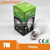 led emergency bulb White epistar chip e27 led bulb,led bulb e27 5w/6w/7w led bulb light                                                                         Quality Choice