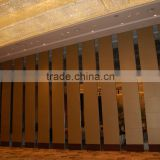 china manufacturer aluminium high quality sliding wall panels for banquet hall