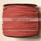 Flat Suede Leather Cord