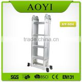 Sell fast outdoor combine protable household aluminium big hinges ladder ladders for steps