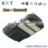 2013 hottest ever led solar street light with cree chip+MW driver 3 years guarranty road lamp