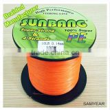 Sunbang Factory Wholesale Fishing Tackle Multifilament Fishing Line