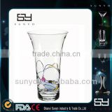 Wholesale Hand Blown Tall Glass Vase Table Centerpieces                                                                         Quality Choice