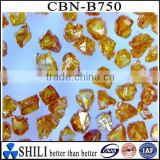 Industrial amber CBN used for abn grinding wheel