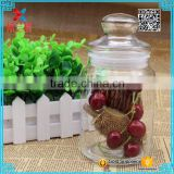 coffee bean glass jar with cap, tea packing glass container 750ml                                                                                                         Supplier's Choice