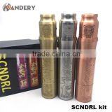 Hot sale copper able stormtooper mod full mechanical mod vaporizer clone able stormtooper mod kit