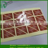 Printed custom paper labels for new products label stickers paper waterproof labels on roll