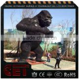animated artificial Chimpanzee life size gorilla statue fiberglass animal Apes scuplture                                                                         Quality Choice