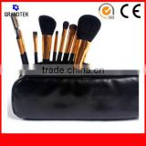 Horse hair 9pcs make up brushes Acrylic