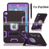 Tough defender hard plastic and TPU cover for Apple iPad mini 4 case                                                                         Quality Choice