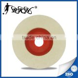4 inch concave felt polishing grinding wheel