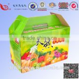 Beautiful colorful carton box for packing fruit