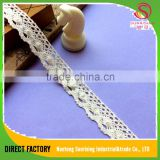 [NTSUNRISING] factory supply 1CM cotton guipure lace fabric 2016 cord lace with stones