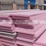 insulation material PU/PIR/XPS/EPS sandwich panel for wall , ceiling
