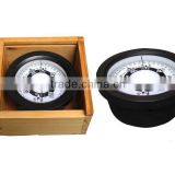 Plastic compass for fishing boat with wooden box