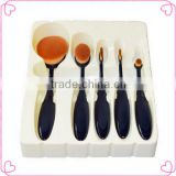New 5pcs facial/foundation/toothbrush makeup brush set                                                                                                         Supplier's Choice