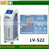 FREE SHIPPING FEE Strong power permanent hair loss treatment diode laser hair removal 808nm