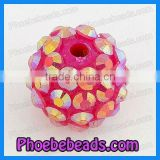 Resin Crystal Ball Beads For Basketball Wives Earring Beads (BRB-025)