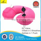 13406 EZ Comfort Inflatable Travel Message Neck Pillow                                                                         Quality Choice