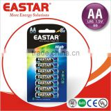 High Quality LR6 Size aa AM3 1.5V Battery for Flashlight