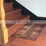 polyester printing rubber mat used wresting mats for sales rubber backing rubber floor mat