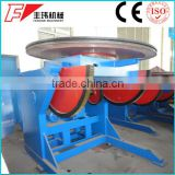 10T customized welding positioner turntable rotator exported to Russia