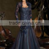 Handmade Flower Full Beaded Lace Strapless The Bridal Mother Dress With Lace Jacket XYY- wy023-212d82
