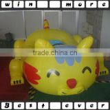 Water Battery Operated Inflatable Kids Electric Cat Bumper Boats For Sale