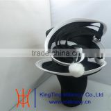 Black and white church hats/Ribbon Hats