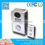 Micro Motion Detection Clock Dvr / Clock Camera Solar Camera Alarm With Video Record and Solar Panel