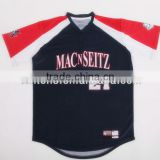 Sublimation blank Custom sublimation plain baseball jersey shirts , custom raglan baseball shirts