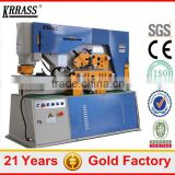 Q35Y-25 combined hydraulic steel rod cut machine,steel rod bending machine manufacturer