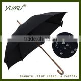 Quality Wooden Umbrella with Wood Shaft Wood Handle